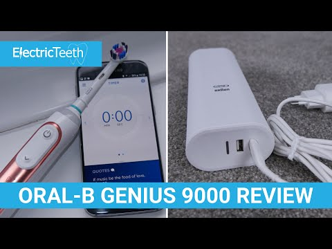 4792c904d92b96 Oral-B Genius 9000 Review - Electric Teeth