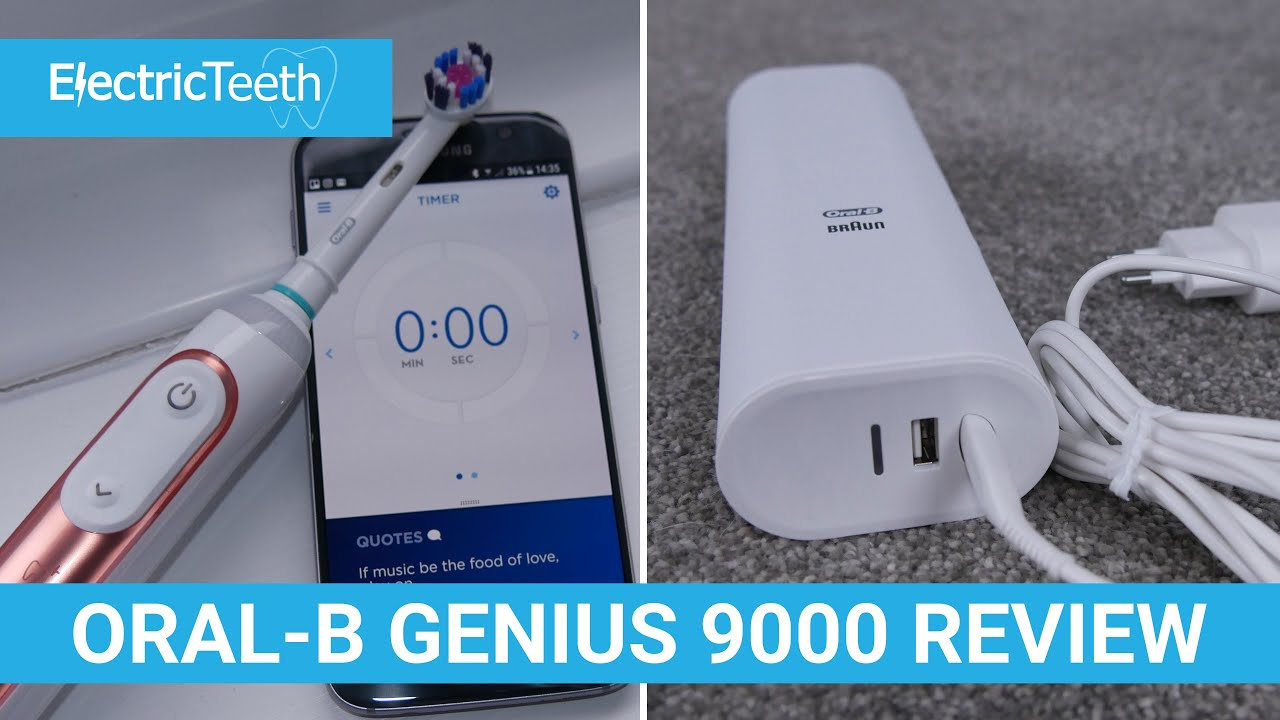 Oral-B Genius 9000 Review - Electric Teeth