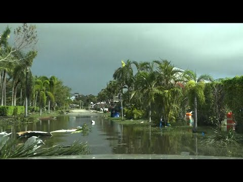 Naples, Fla. Residents Survey Hurricane Damage
