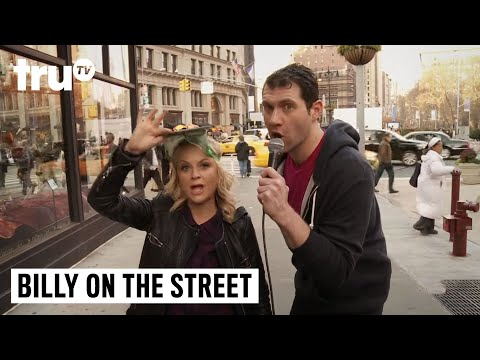 Billy on the Street - It's Not Pitbull—It's Amy Poehler!