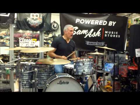Ben Sesar Drum Clinic Part 2 Sam Ash 8/24 Stick Technique and Playing with a Metronome