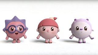 Малышарики - На площадке (16 серия) Развивающие мультфильмы для самых маленьких 1,2,3,4 года