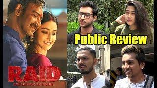RAID Public Review - Ajay Devgan And Ileana D'Cruz - Bollywood Insight