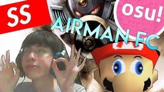 AIRMAN SS +HD   EPIC SUPER MARIO 64 BEATMAP   osu! Liveplay
