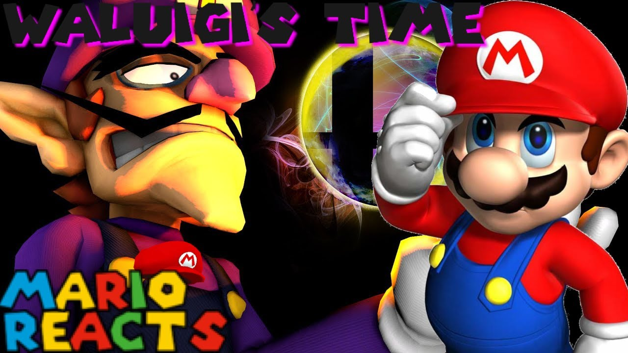 Waluigi Does Have A Special Move | Mario Reacts To SMG4: Waluigi's Time