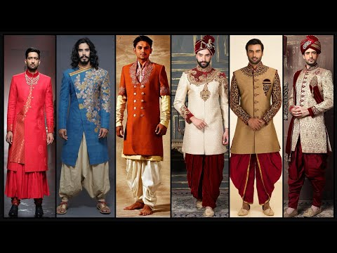 Partywear dresses for men/Sherwani Designs/Suit design/Indowestern dresses for men/Men fashion- FSHC