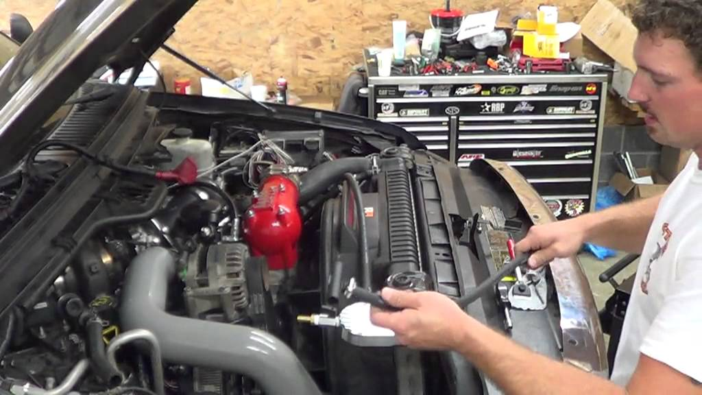 ford 6.0 coolant filtration system install -