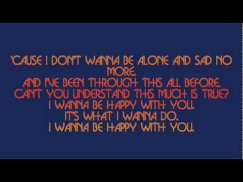 The Queers - I Wanna Be Happy (lyrics)