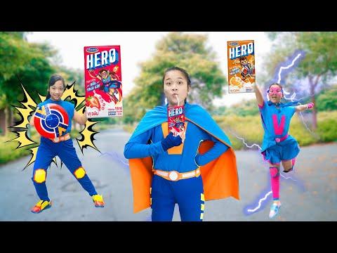 siêu anh hùng và giải đấu sức mạnh toàn vũ trụ hack - Siêu Anh Hùng Giúp Đỡ Mọi Người ❤ Ai Gặp Khó Có Hero - Trang Vlog