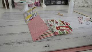 6x6 Paper   QUICK & EASY   Happymail Flipbook Idea   Septeria18