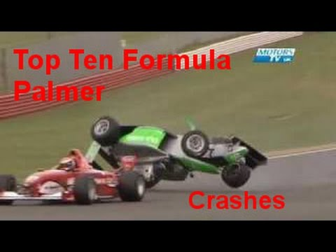 TOP 10 Formula Palmer crashes