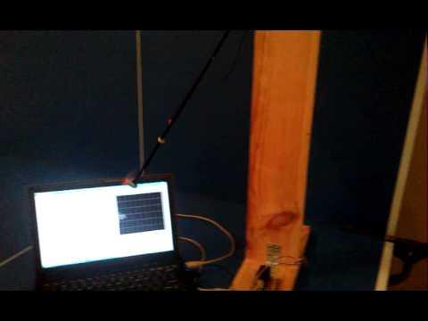 Rotor Actuated Pendulum - Response Capturing for Identification