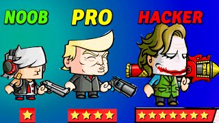 NOOB vs PRO vs HACKER  - Zombie Age 3 Shooting Walking screenshot 5