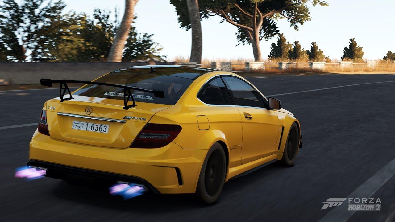 Forza Horizon 2 Mercedes Benz C63 Amg Black Series Gameplay Youtube
