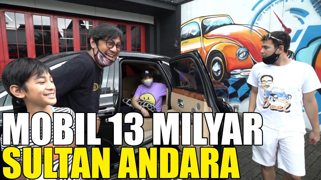 Nyobain Mobil Harga 13 Milyar Rolls Royce Raffi Ahmad Youtube