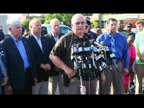 Sheriff Bailey describes what happened inside the Berrien County Courthouse