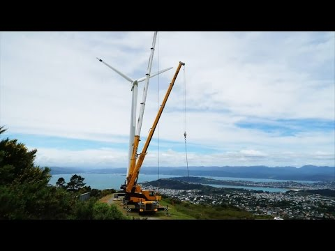 Brooklyn wind turbine removal - Meridian video