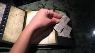 Mini Envelope Album-- Crowded Attic