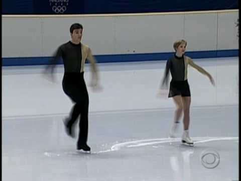 HQ Elena Berezhnaya & Anton Sikharulidze - BARCELONA  1998 Winter Olympic Exhibition