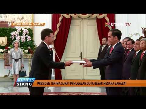 Jokowi Melantik & Menerima Duta Besar Negara Sahabat Mp3