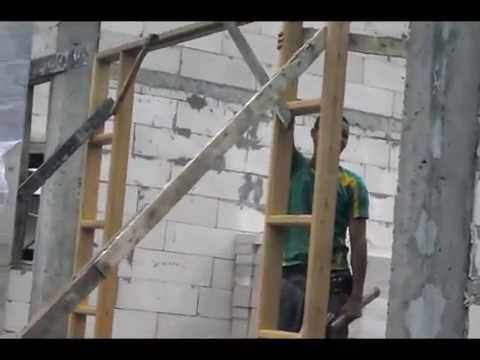 สร้างบ้านเดี่ยวชั้นเดียว ก่อสร้างบ้าน อยากสร้างบ้าน #somchai karnchang