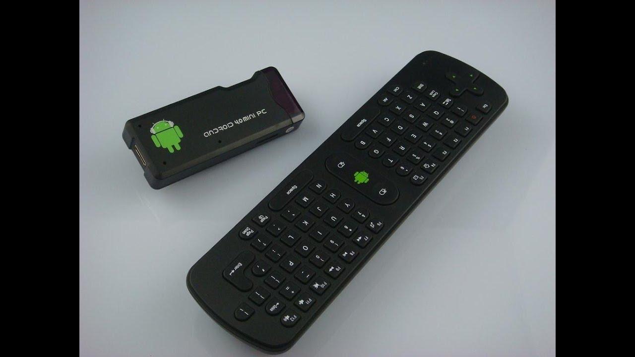 Mini Smart Tv Android 40 Mini Pc Mk802 Flymouse Remote