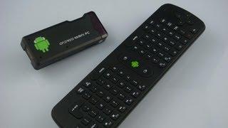 Mini Smart Tv Android 4.0 mini PC MK802 & Flymouse Remote