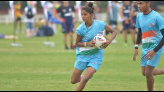 INDIAN TOUCH RUGBY PLAYER ANAMIKA ON THE ROLE