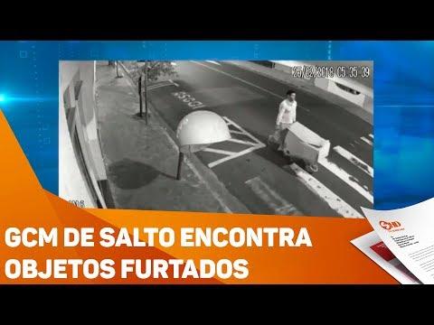 GCM de Salto encontra objetos furtados - TV SOROCABA/SBT