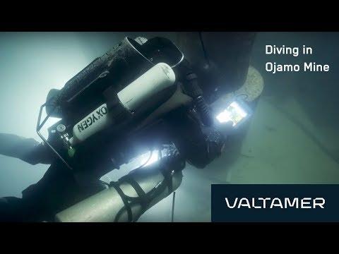 Alltab Underwater Tablet at Ojamo Mine