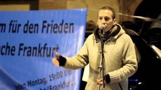 27.10.14 - Mahnwache für den Frieden - Frankfurt am Main
