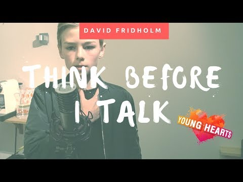 Think before I talk med David I Younghearts Astrid S cover