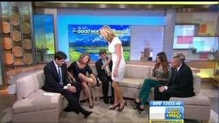 Video Lara Spencer & Amy Robach - great legs and high heels close ups download MP3, 3GP, MP4, WEBM, AVI, FLV Agustus 2018