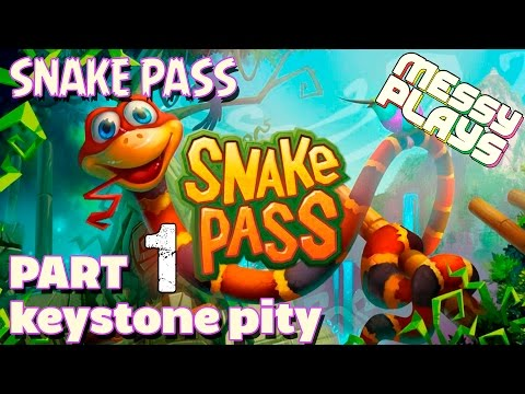 SNAKE PASS - Part #1 - LETS PLAY With Commentary - MESSYPLAYS