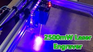 EleksMaker EleksLaser-A3 Pro 2500mW Laser Engraver