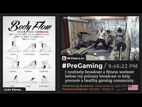 💪 #PreGaming: DAREBEE Body Flow Yoga Workout