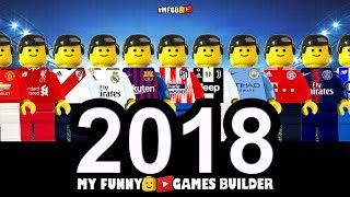 Best Moments of the Year 2018 • Lego Football Film Goals Highlights