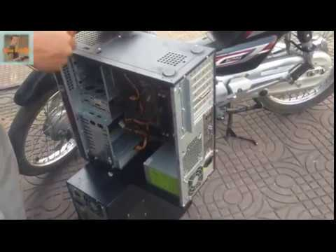 Clean CPU And Test Machine Desktop Computer Process Or Not Process