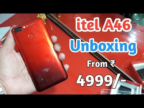 itel A46 First Look, Unboxing, Review [Hindi]