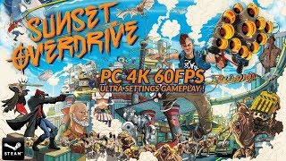 [4K] Sunset Overdrive PC Gameplay footage 4K+60FPS [GTX 1080 Ti]
