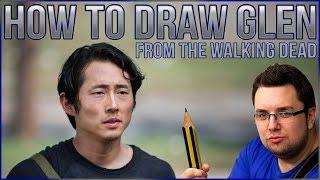 How To Draw Glen (The Walking Dead)