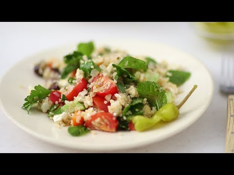 Greek Quinoa Salad- Healthy Appetite with Shira Bocar
