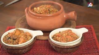 Bien con Lourdes - Cazuela de lentejas vegetariana