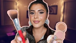 ASMR Your Aunt Maria Does Your Makeup (Gum Chewing)