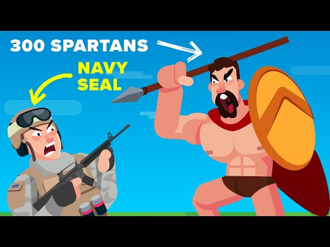 1 NAVY SEAL vs the SPARTAN 300 - Who Actually Would Win?Kaynak: YouTube · Süre: 7 dakika59 saniye