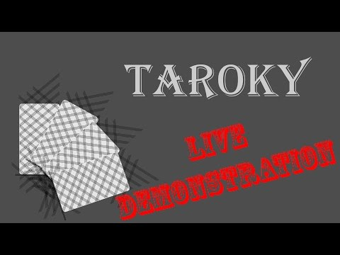Taroky - Amnesia Fortnight 2017 Play Demonstration