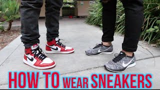 Wajeeh West | HOW TO WEAR SNEAKERS WITH QIAS