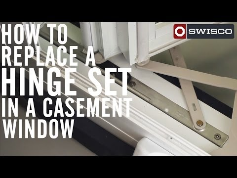 How to Replace a Hinge Set in a Casement Window [1080p]