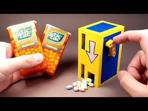 How to build a LEGO Tic Tac Candy Machine