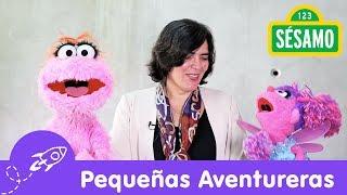 Sésamo: Las Pequeñas Aventureras y Verónica Zavala
